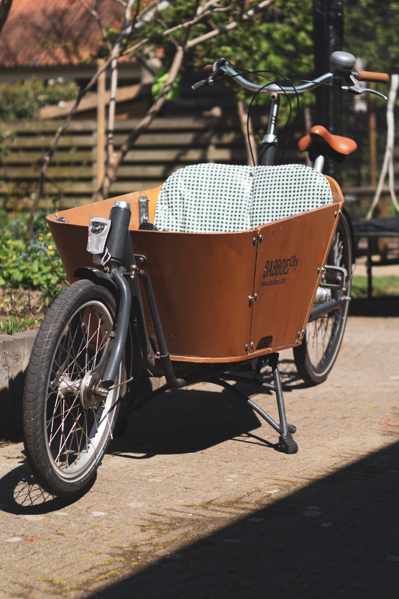 hoe fiets je veilig met een bakfiets?