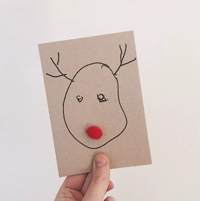 kerst knutsel peuters