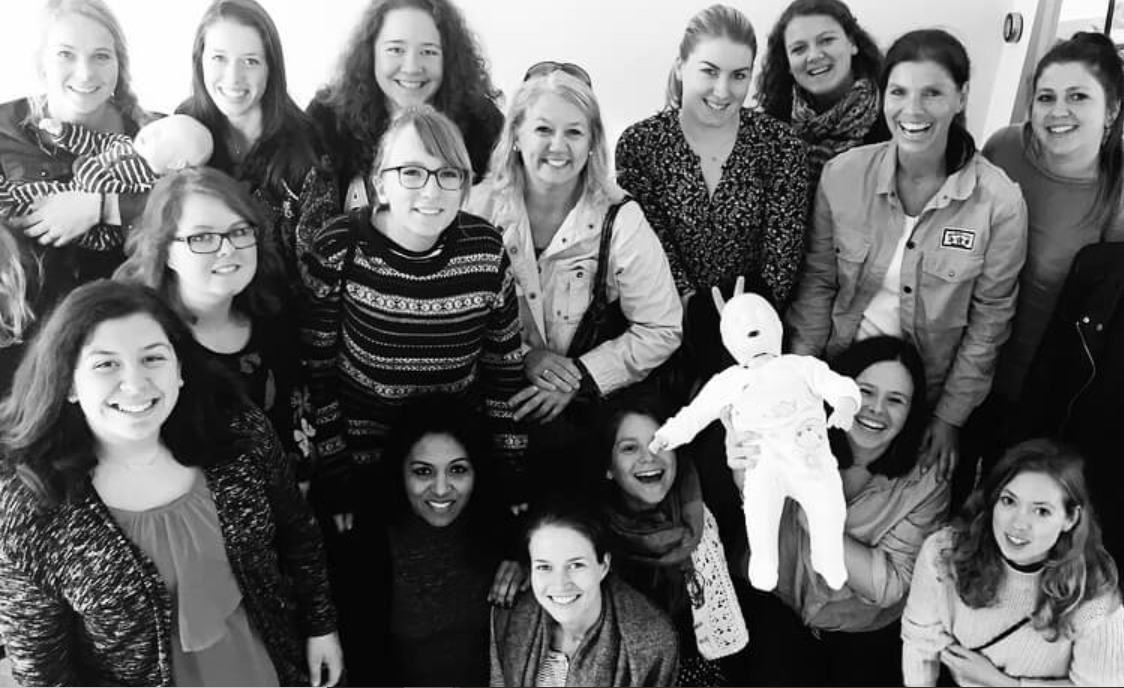 picture of nannies and babysitters and au pairs that followed an au pair course